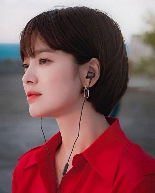 Gaya Rambut Pendek Kim Ji Won Berubat A