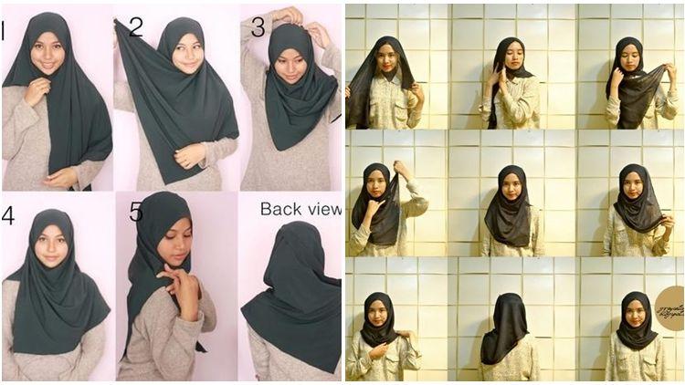 8 Tutorial Hijab Ini Sempat Terlupakan Padahal Manis Banget Buat Dipraktikkan