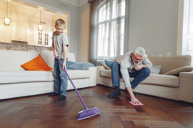 bersih rumah
