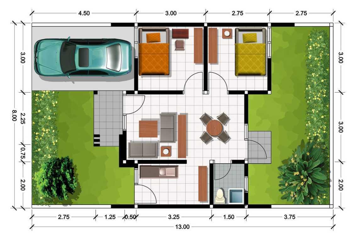 9 Desain Rumah Type 36 Yang Cocok Untuk Pasutri Anyar Bisa Ada Musalanya Atau Dibikin 2 Kamar