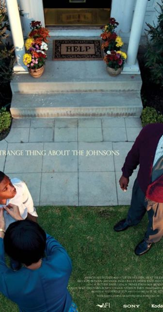 Poster Film The Strange Thing About the Johnsons