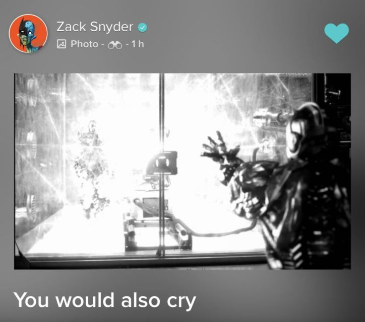 Vero: New Cyborg Image from Snyder Cut : DC_Cinematic