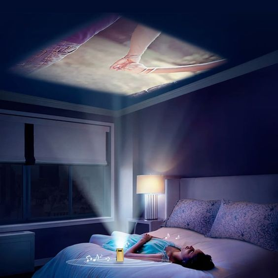 Portable Projector by Pinterest