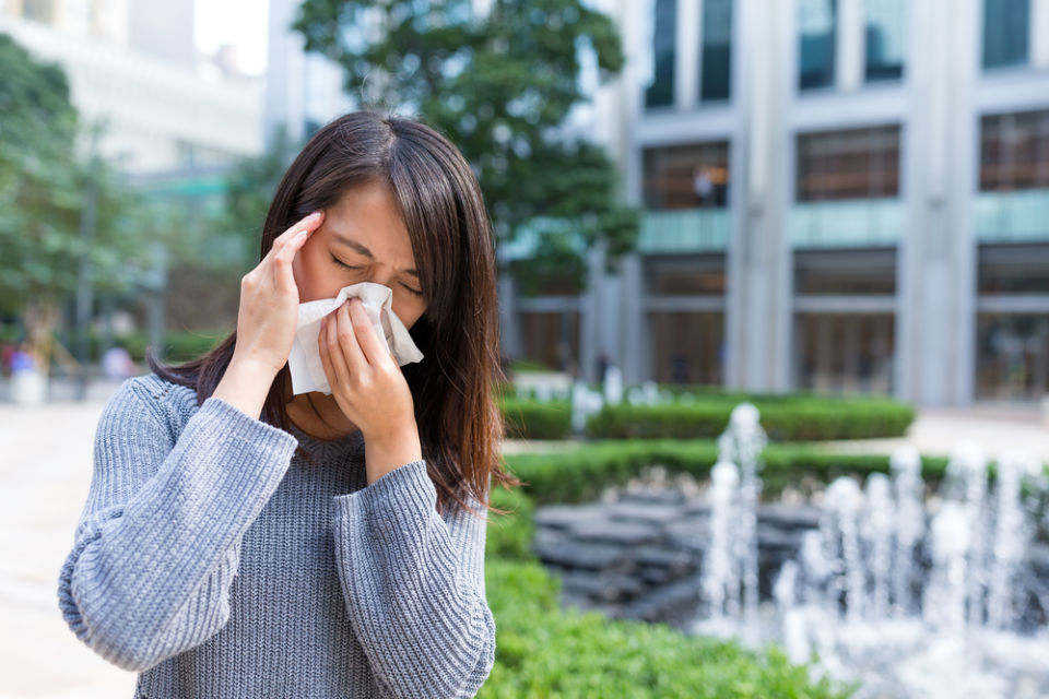 gejala sinusitis hidung