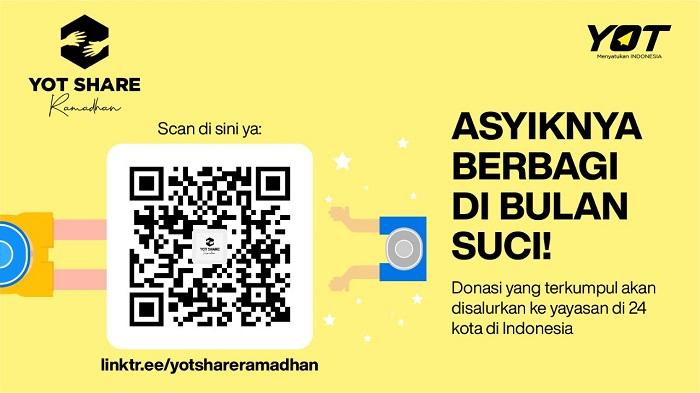 Yuk bagikan kebahagiaan lebaran di YOT Share Ramadhan