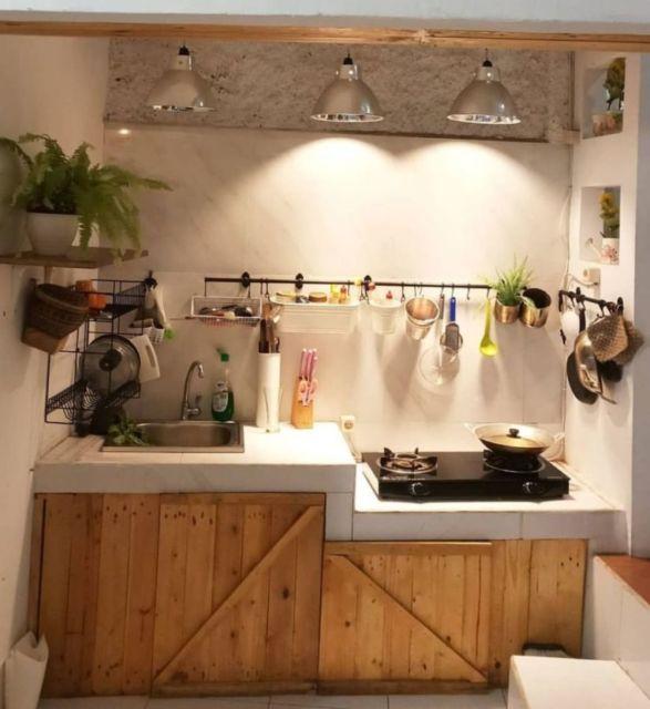 9 Desain Rak Dapur Pelengkap Istana Masakmu. Ada yang ...