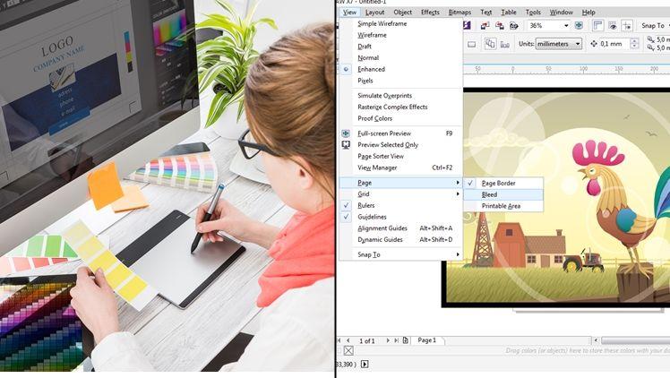Tutorial Corel Draw Buat Yang Lagi Belajar Desain Grafis Tools Nya Sederhana Pasti Cepat Bisa