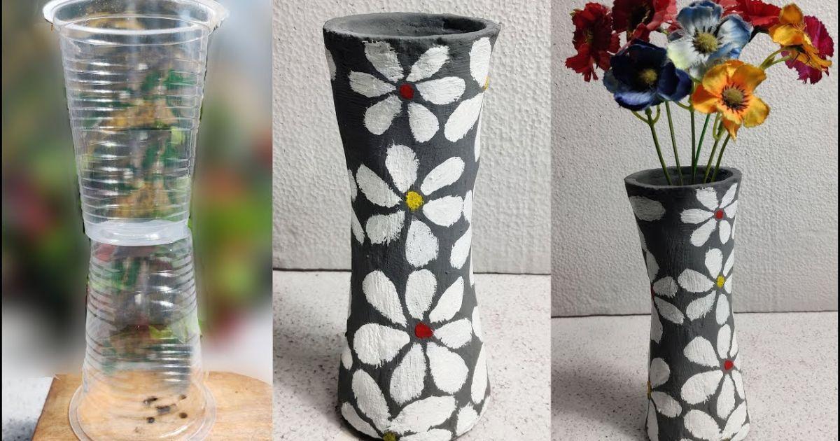 5 Kreasi Gelas Plastik Bekas Es Kopi Bisa Disulap Jadi Lampu Gantung Sampai Vas Bunga Mini