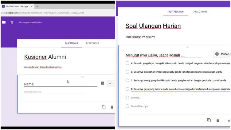 Lihat Cara Mengatur Batas Waktu Di Google Form mudah