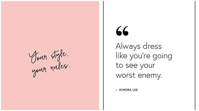 10 Quotes Tentang Fashion Yang Menegaskan Menjadi Diri Sendiri Itu Penting Bijak Banget