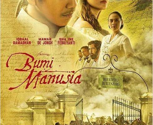 Poster Film Bumi Manusia Jadi Apresiasi Karya Pramoedya