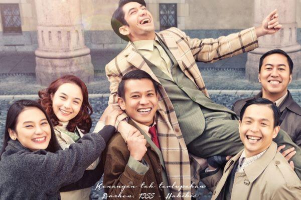 Film Rudy Habibie Rilis Poster Resmi Perdana