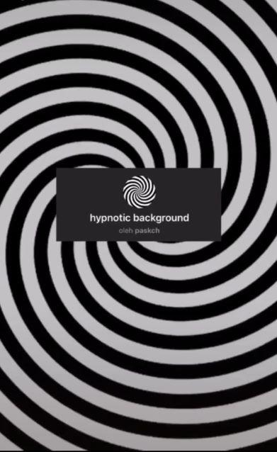 Filter Hypnotic Background