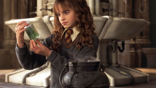 Hermione brews Polyjuice Potion