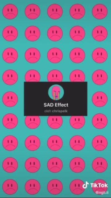 Filter Sad Effect