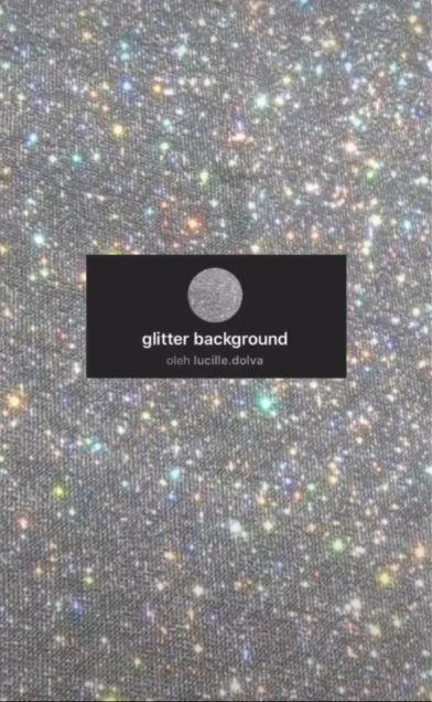 Filter Glitter