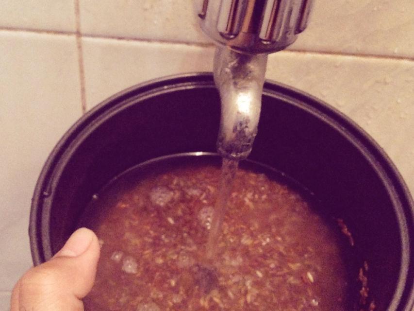 cara memasak beras merah