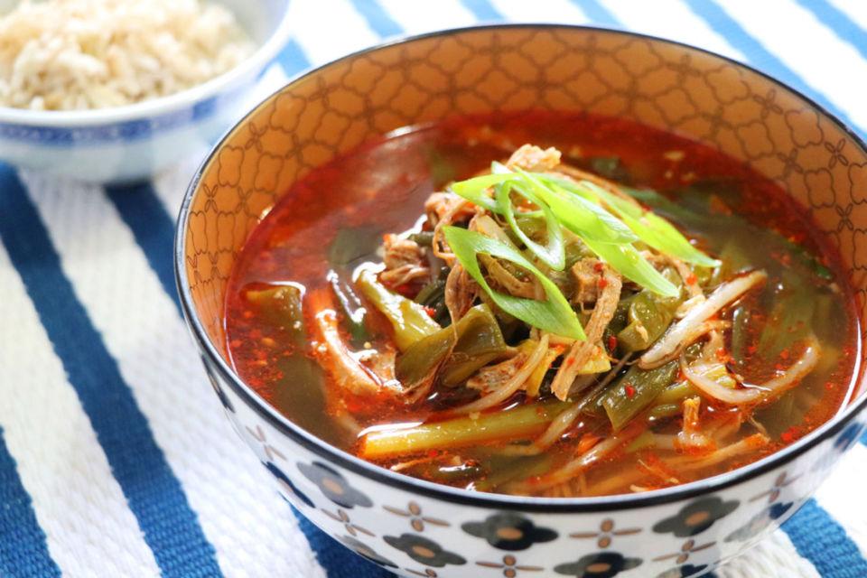 resep sop daging sapi Korea