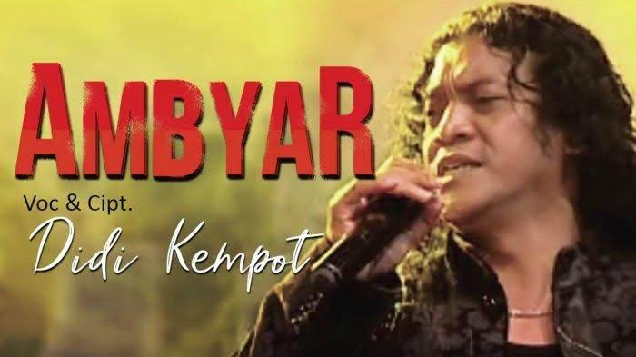 Photo by @Didi Kempot Official Channel On Youtube