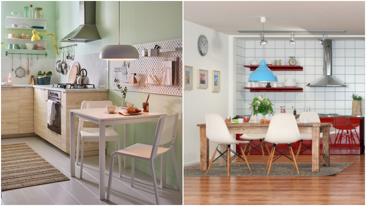 11 Desain Dapur Dan Ruang Makan Yang Jadi Satu Sempit Tak Apa Asal Multifungsi Rumahmu