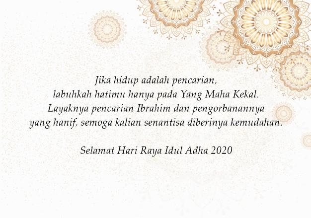 Aneka Ucapan Selamat Idul Adha yang Menyentuh Hati. Bisa ...