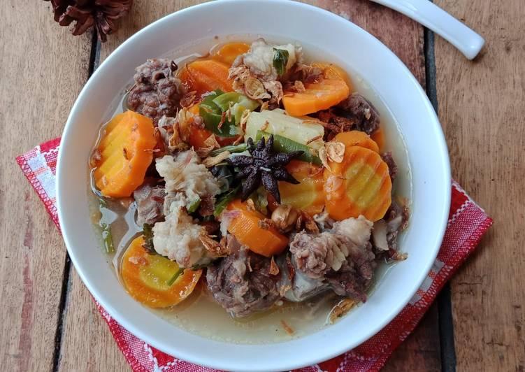resep sop daging sapi Padang