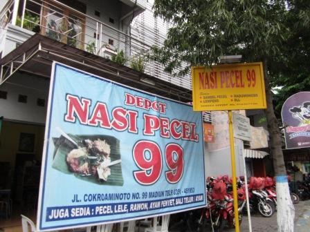 depot nasi pecel 99