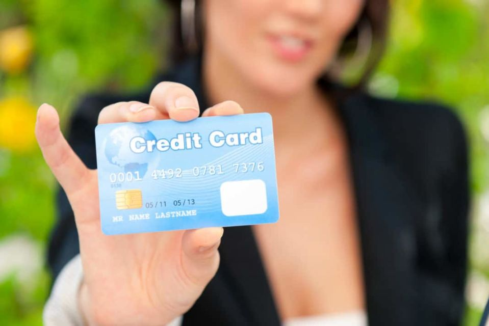 People Using Credit Card