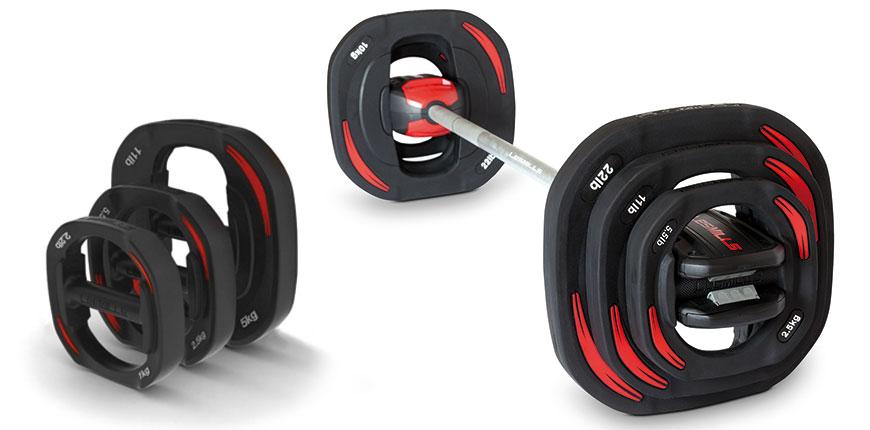 Alat-alat yang digunakna untuk Body Pump