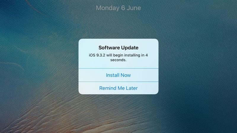 Software update Mac OS