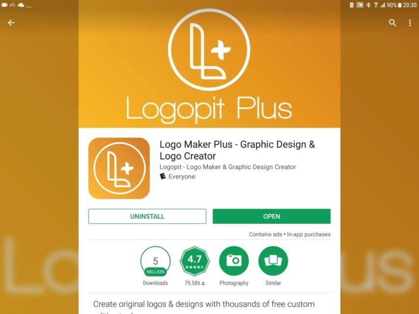 Tutorial Bikin Logo Online Shop Dengan 5 Aplikasi Pembuat Logo Di Hp Bisalah Sejam Jadi