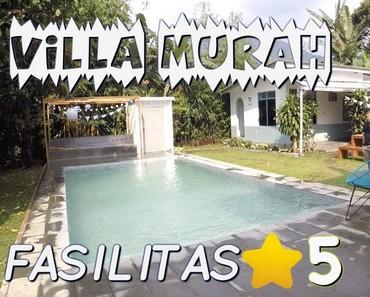Fasilitas Villa Bintang 5