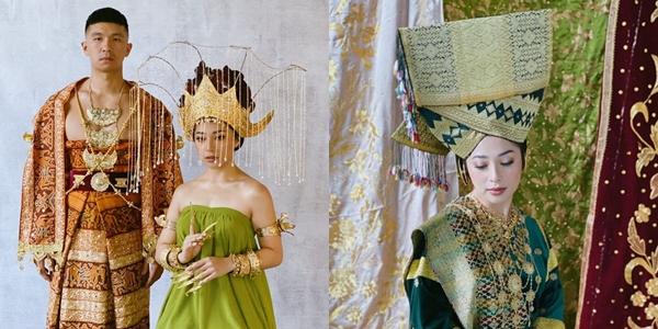 Nikita Willy Indra Priawan Pre Wedding Kenakan Baju Adat Intip Yuk Detail Busana Dan Mahkotanya