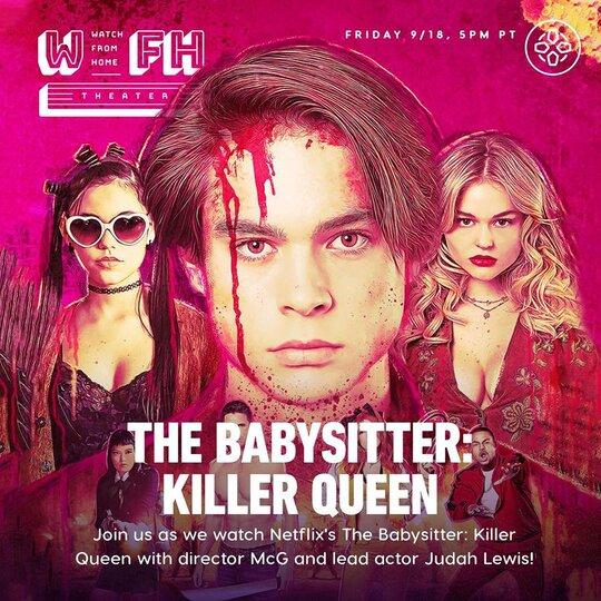 Poster resmi The Babysitter: Killer Queen