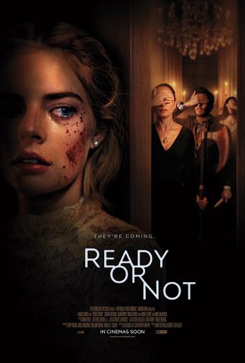 Samara Weaving sebagai tokoh utama di film Ready or Not
