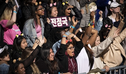 BTS Army, Photo by AFP