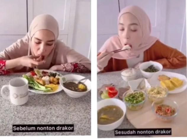 Mengikuti cara makanya orang korea