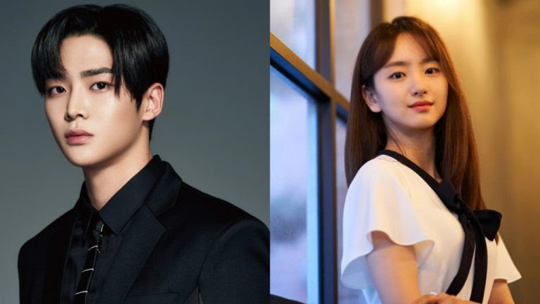 Kolase foto Rowoon SF9 dan Won jin ah