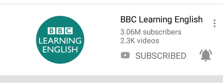 Youtube bbc learning english