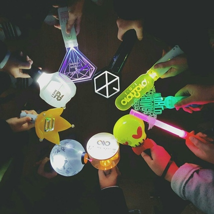All Things Cute By Fancy Whimsy Cutest Kpop Group Lightsticks