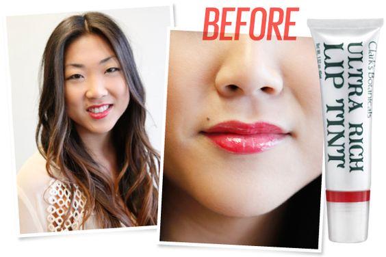 Hasil gradient lips