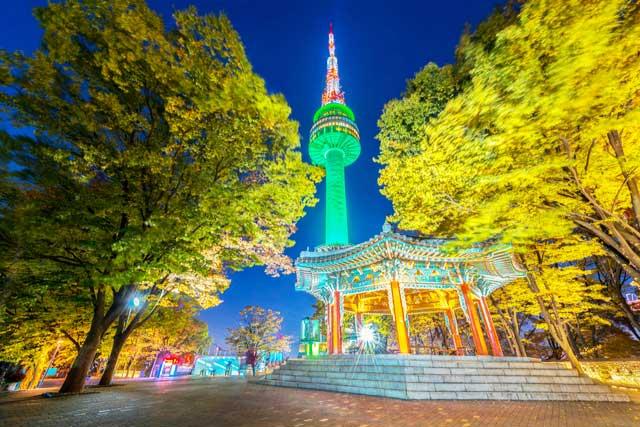 Namsan Tower, tempat kencan Tuan Muda Jun Pyo dan Jan Di