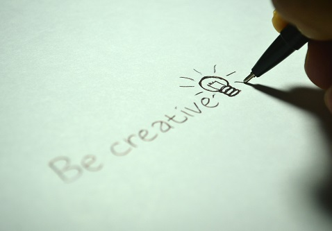 Terus berlatih untuk mengasah jiwa kreatif kamu