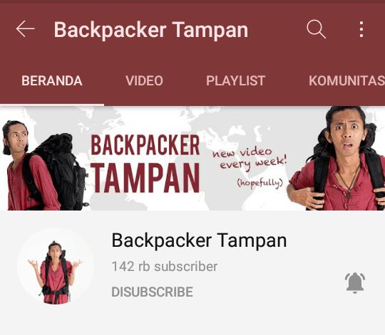 Backpacker Tampan
