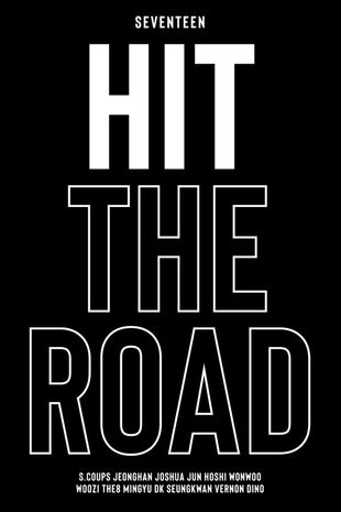 Seventeen : Hit The Road Poster