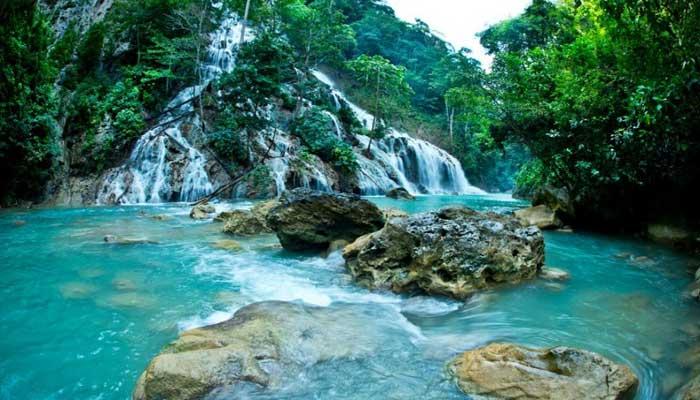 Air Terjun La Popu, Sumba