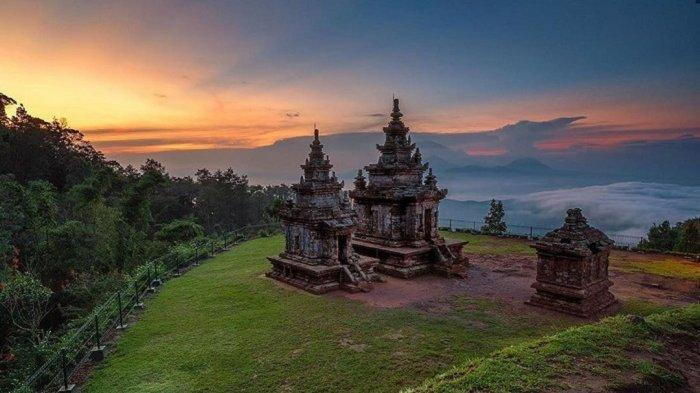 Gedong Songo by travel.tribunnew.com