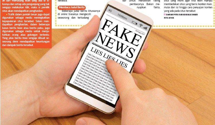 Menghindari berita palsu