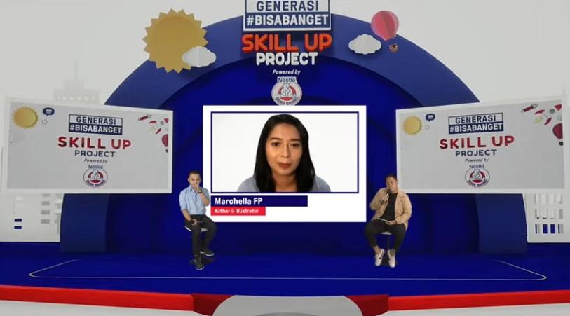 Talkshow dengan speakers Dr. Jiemi Adrian dan Marcella FP / Dok. Pribadi