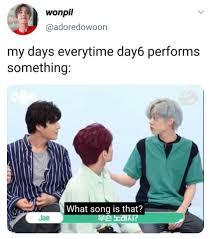 Day6 lupa lirik, My Day lupa judul, perfect combination
